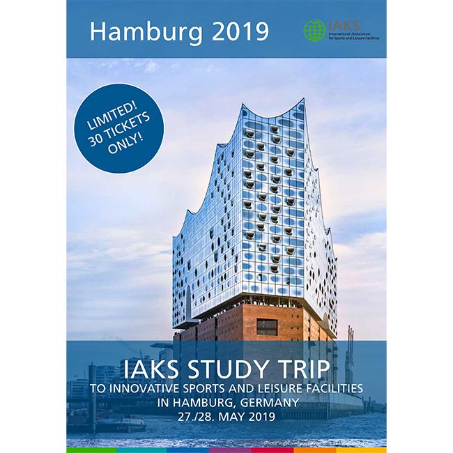2019 IAKS study trip to Hamburg, Germany: Secure one of the