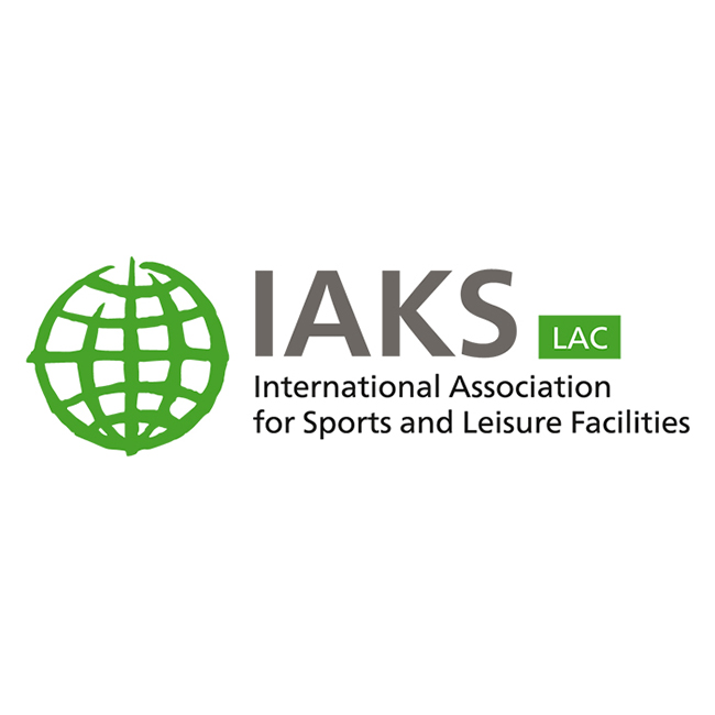 Logo IAKS LAC Latin America and the Caribbean