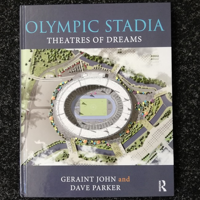 book cover_Olympic Stadia Theatres of Dreams