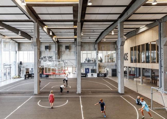 Streetmekka street sports and cultural centre in Viborg by Effekt
