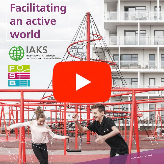 IAKS Congress 2019 advertisement square 650 youtube