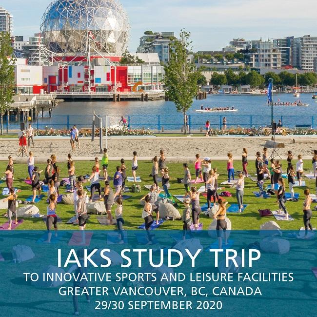 2020 IAKS Study Trip Vancouver September title 650