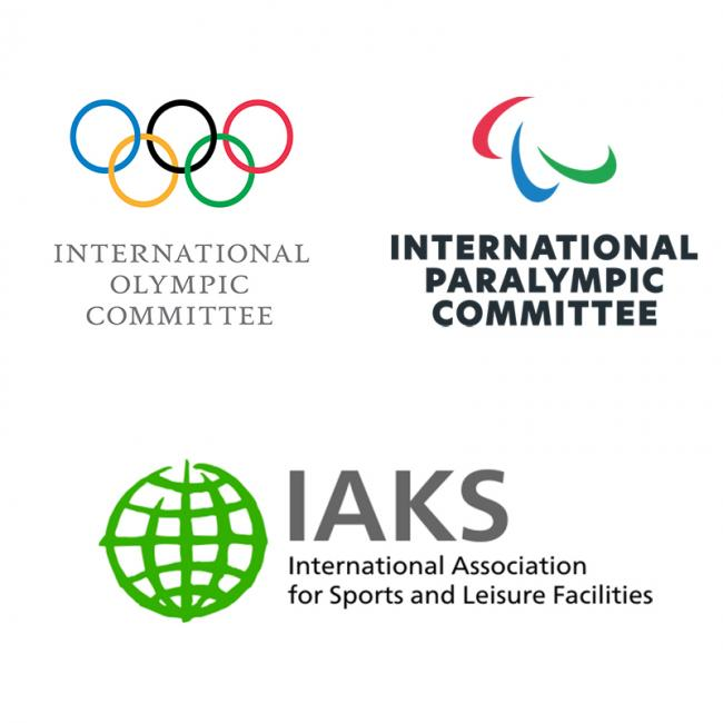 IOC IPC IAKS three logos